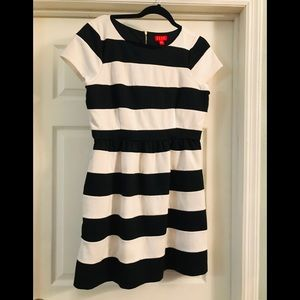 ELLE Striped Skater Dress